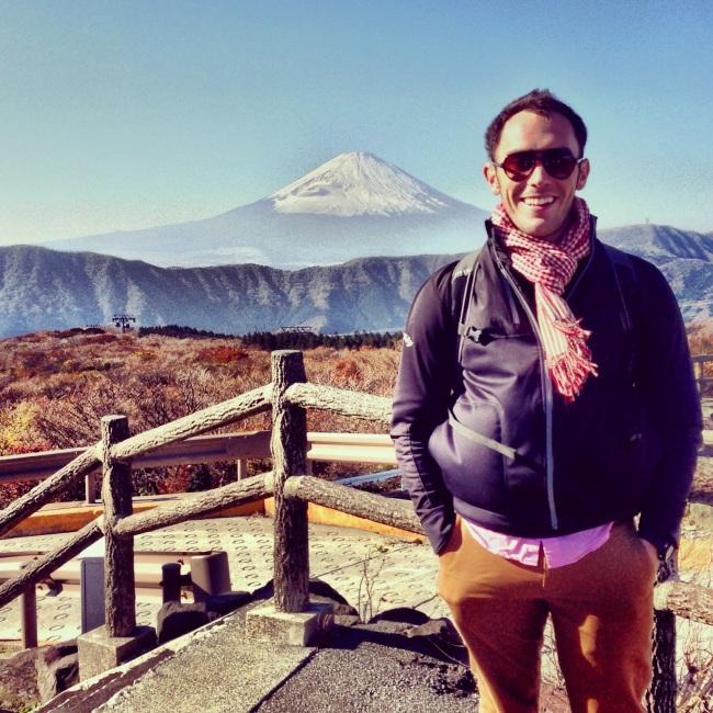 Mt Fuji from Owakudani
