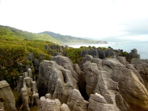 Punakiki Rocks - Stray Bus NZ South Island